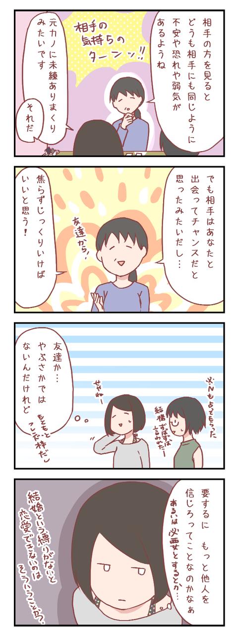 【ろぐ297】相手の方の気持ちを占ってもらったけど(婚活編)
