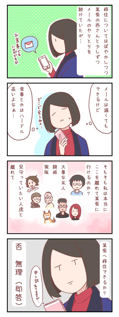 県外への移住はアリかナシか?②(婚活編)【ろぐ521】