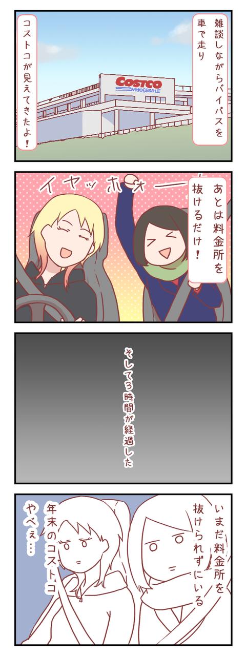 コストコ初心者への最初の洗礼【ろぐ810】