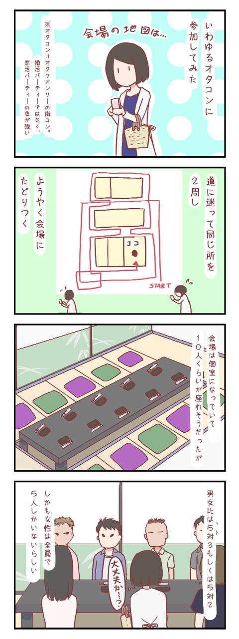 【ろぐ279】不安だらけのパーティー(婚活編)