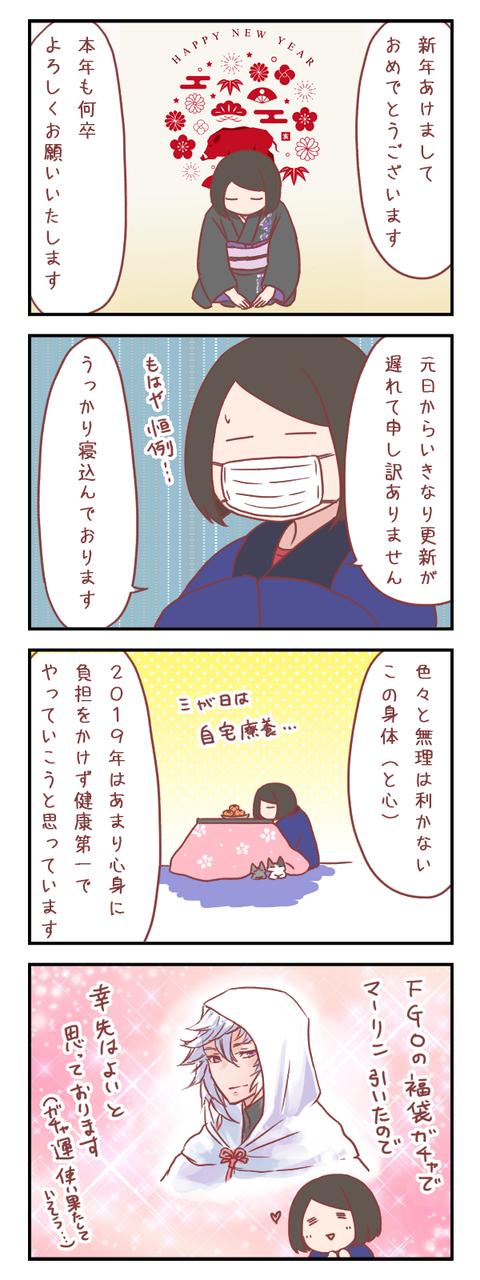 新年のご挨拶と2019年の抱負【ろぐ798】