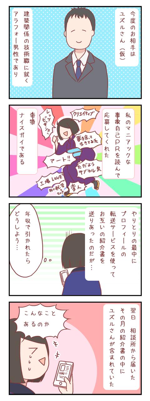 個性がうるさい女とナイスガイ(婚活編)【ろぐ527】