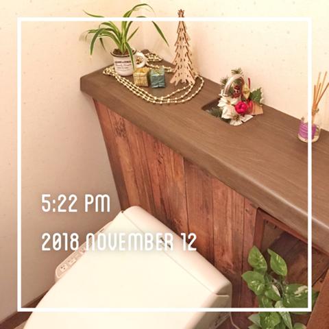 トイレだけでもクリスマス仕様