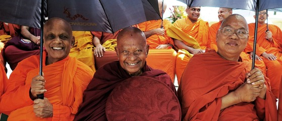 Maha Sangha Dana by Mitch