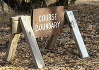 course boundary -  trimmed