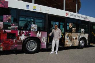 トラモーニが装飾した市バス