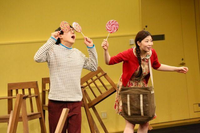 「グレーテルとヘンゼル」稽古場写真3撮影:宮川舞子