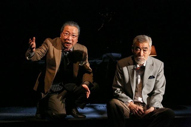 4,(右から)柄本明、石倉三郎