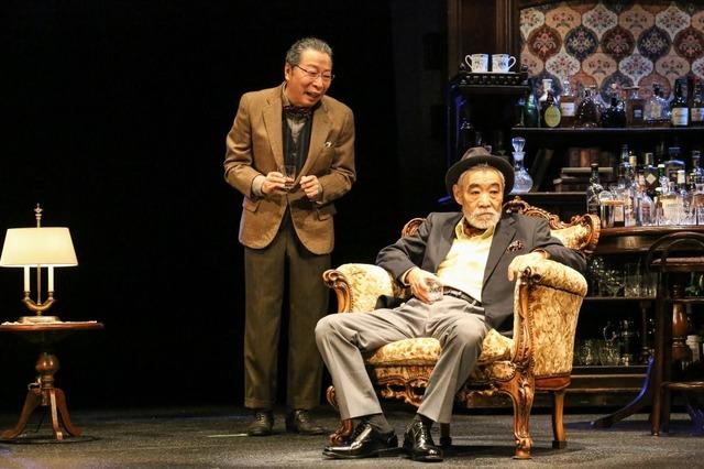 1.(右から)柄本明、石倉三郎