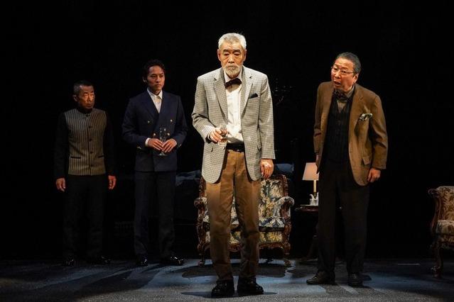 3.(右から)石倉三郎、柄本明、平埜生成、有薗芳記