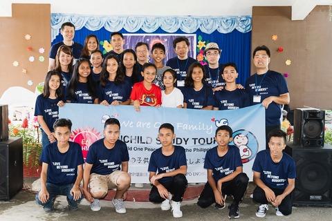 ブハンのエンチャイルド奨学生(ENCHILD scholars in Buhang)