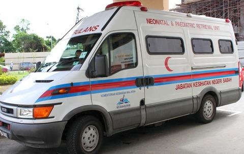 マレーシアの救急車