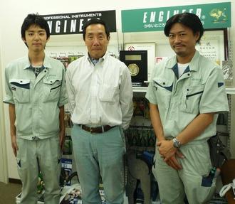 吉村さんと3ショット