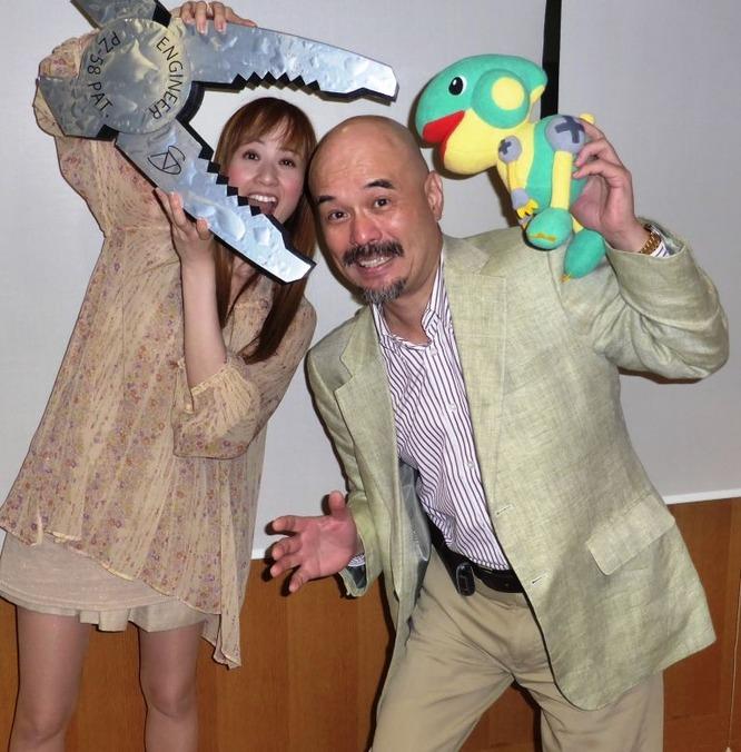 森裕子さんとネジザウルス