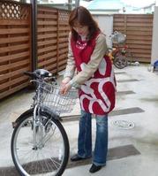 みかさん@自転車