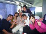 社員旅行バス