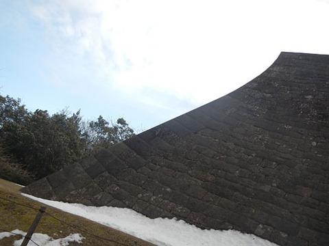 仙台城跡の石垣