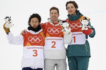 【平昌五輪】スノーボード男子ハープパイプ 平野歩夢が2大会連続の銀メダル、ショーン・ホワイトが金メダル