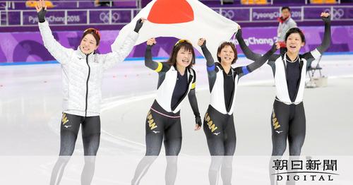 【平昌五輪】金銀銅メダルのスピードスケート高木美帆は報奨金1600万円