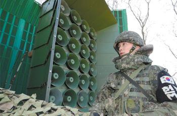 【南北朝鮮】「金正恩」と呼び捨てにせず「最高領導者」 韓国、南北境界の宣伝放送