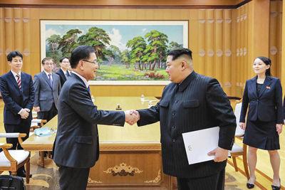 【韓国大統領府】「金委員長の親書なかった」=トランプ氏に口頭メッセージ