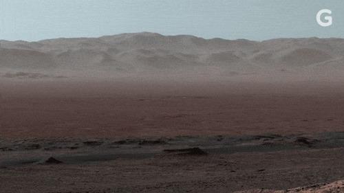 【宇宙】こ、これが火星なのか… 火星探査機キュリオシティから送られてきたパノラマ写真