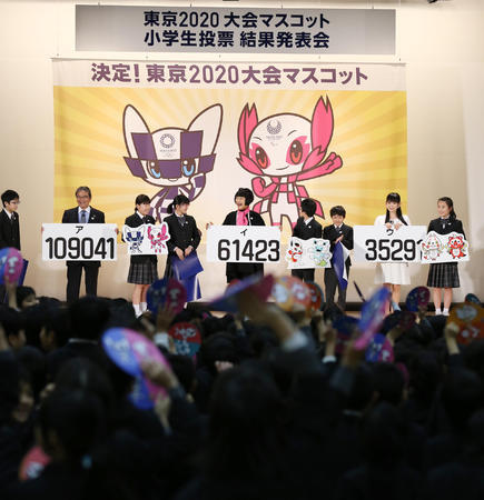 【悲報】東京五輪マスコット決定。ダサいと話題にwwwwwwwwwwwwww