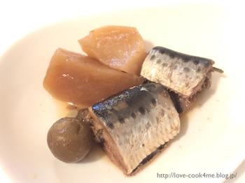 クックフォーミーで骨まで食べられるイワシの梅煮