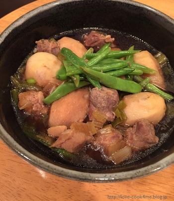 【里芋と鶏肉の煮物】味がしみ込んだホクホクの煮物がたった6分【cook4me】
