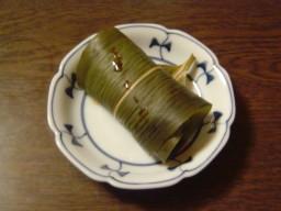 鰻の笹巻き