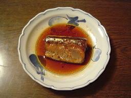 秋刀魚の煮付け