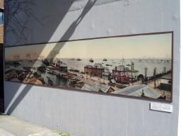 1910(明治43)年頃の横浜港