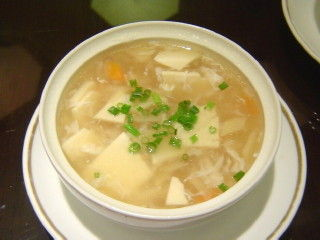 豆腐のとろみスープ