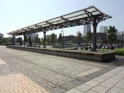 旧横浜港駅プラットホーム