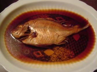 鯛の煮付け