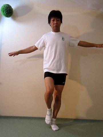 膝の屈伸テスト