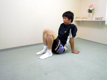 複合ストレッチ(ひざ下/前脛骨筋&つま先)