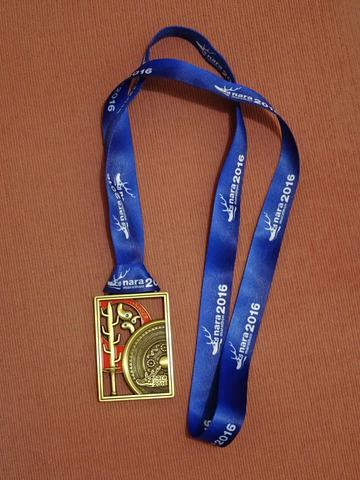 奈良マラソン2016 メダル