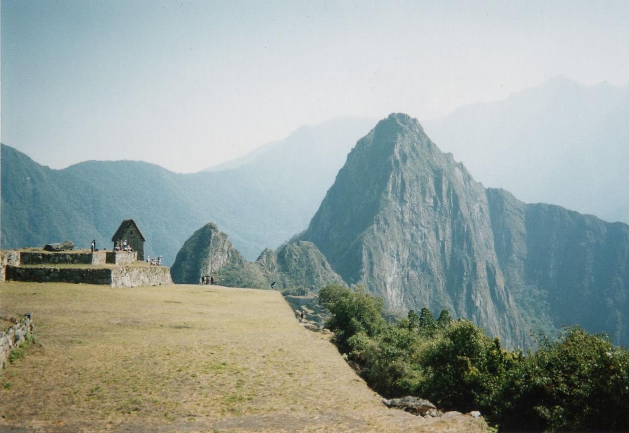 マチュピチュの景色