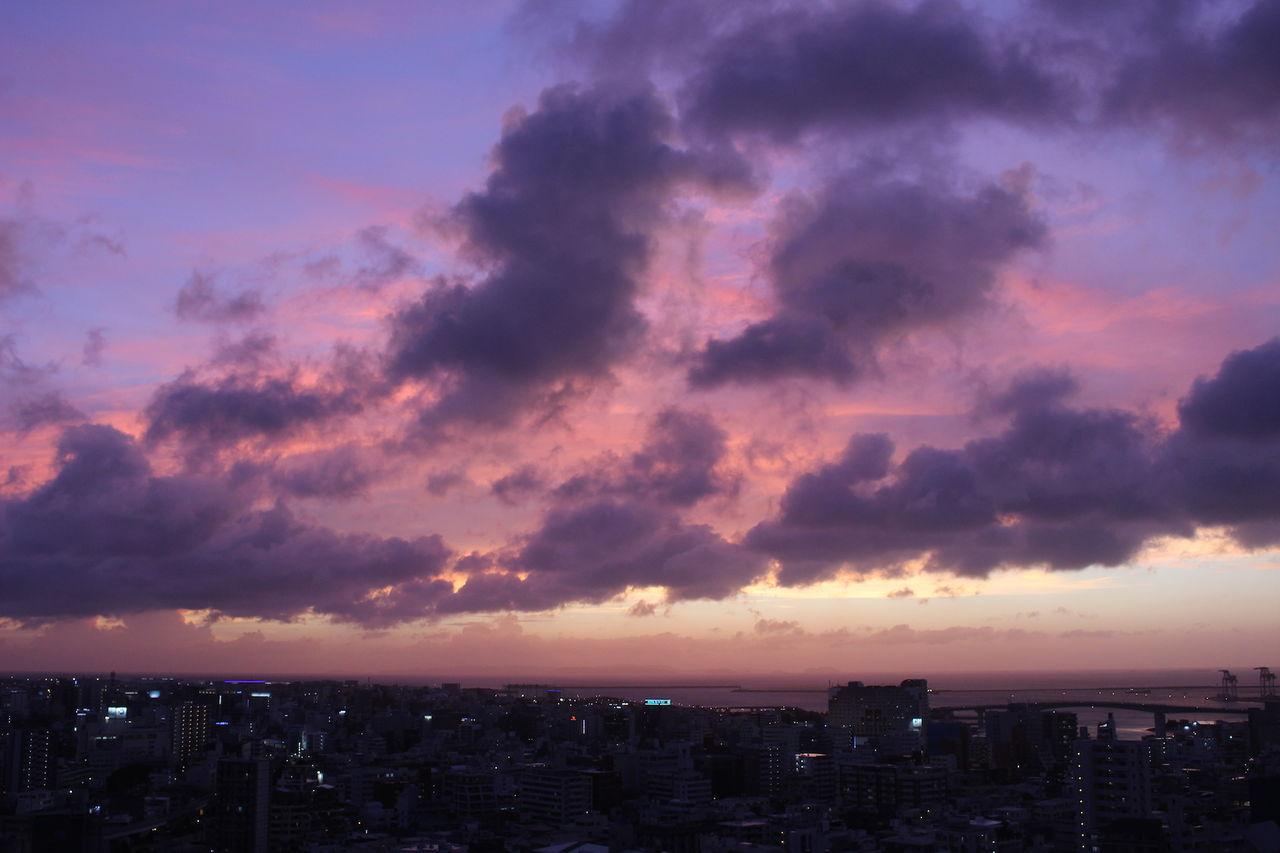 沖縄の空9月25日