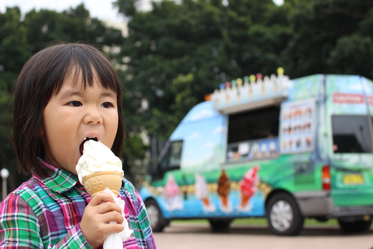 ソフトクリームと姫