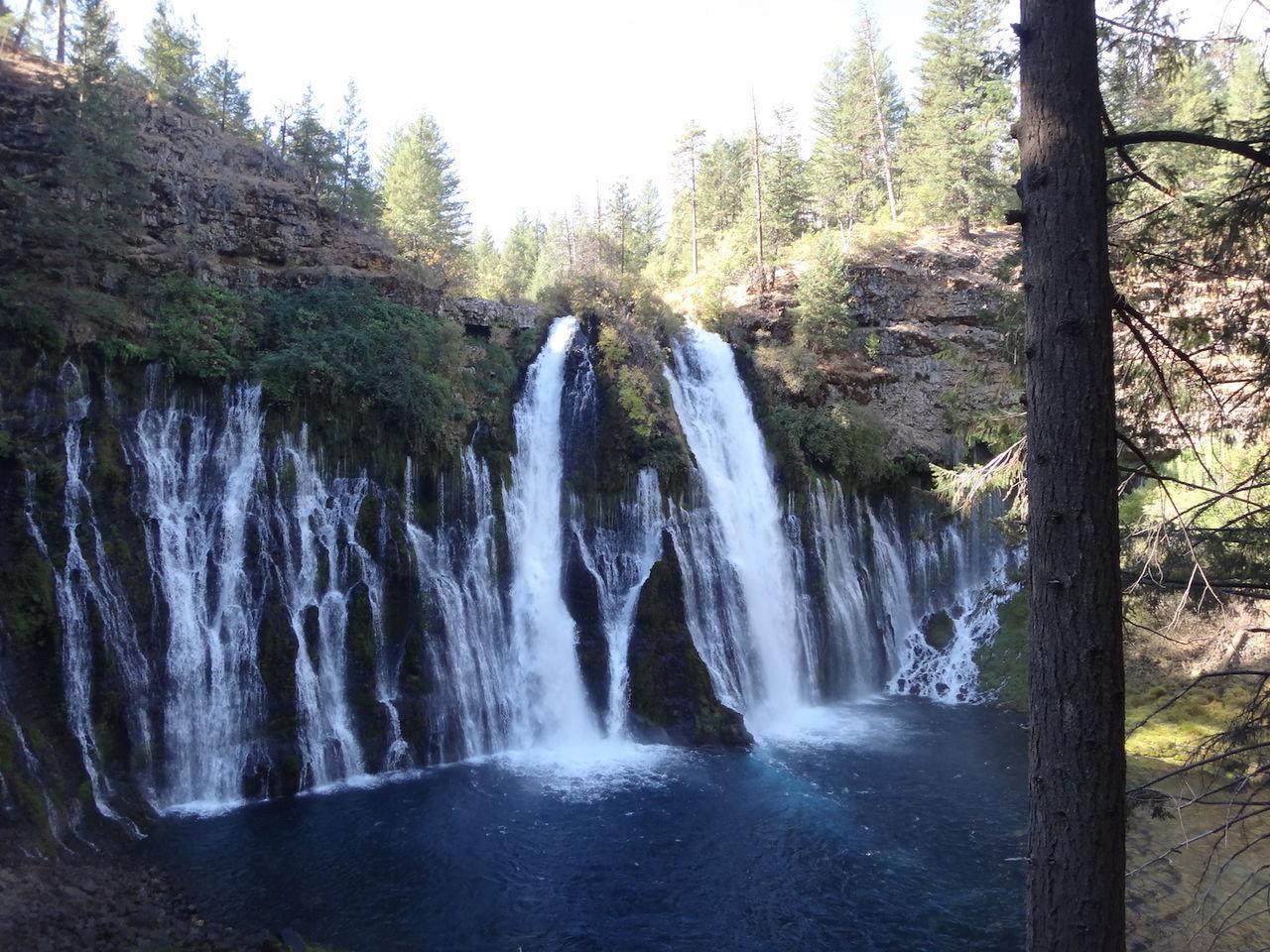 シャスタ 滝