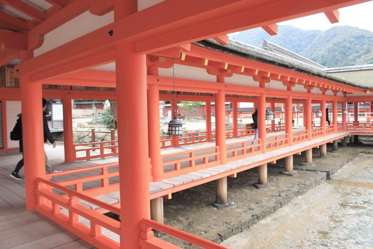 広島の神社での写真