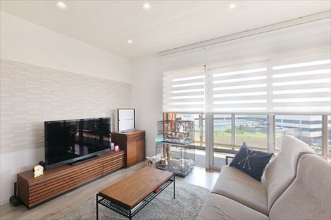 After -living area-