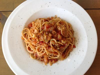 香味トマトソーススパゲッティ2
