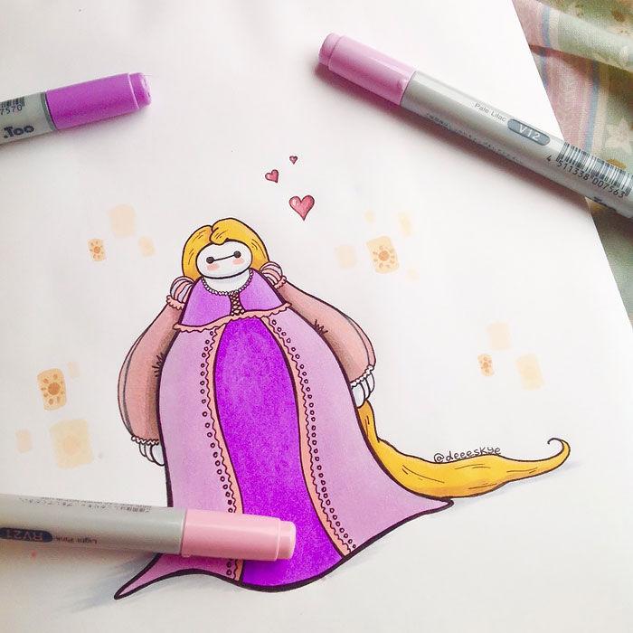 白雪姫ベイマックス