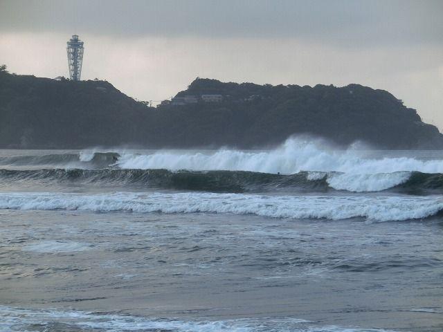 波浪警報 : えのしま貝散歩