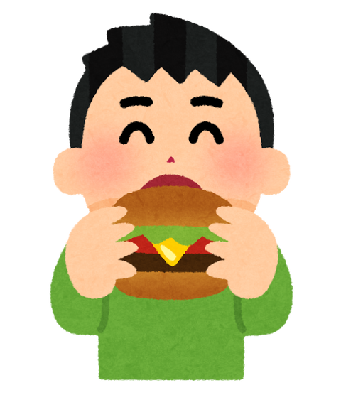 syokuji_hamburger_boy