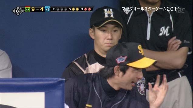 楽しそうなダル、川崎、田中(同級生)の会話に加わりたそうな斎藤2