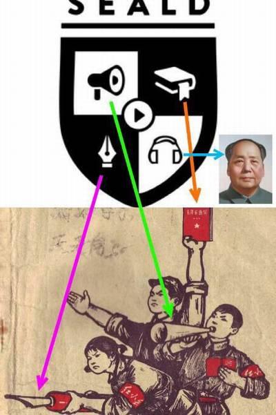 中国共産党=sealds